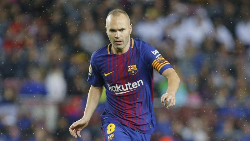 Barcelona captain Andres Iniesta rejects big money move to China