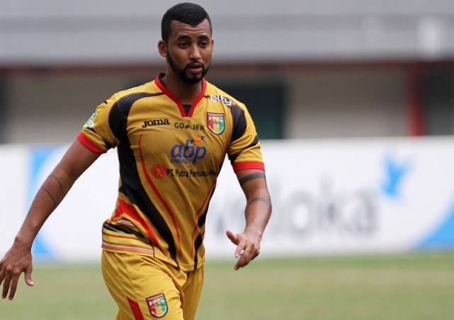 Indonesia Liga 1 striker Marclei Santos joins Chonburi FC