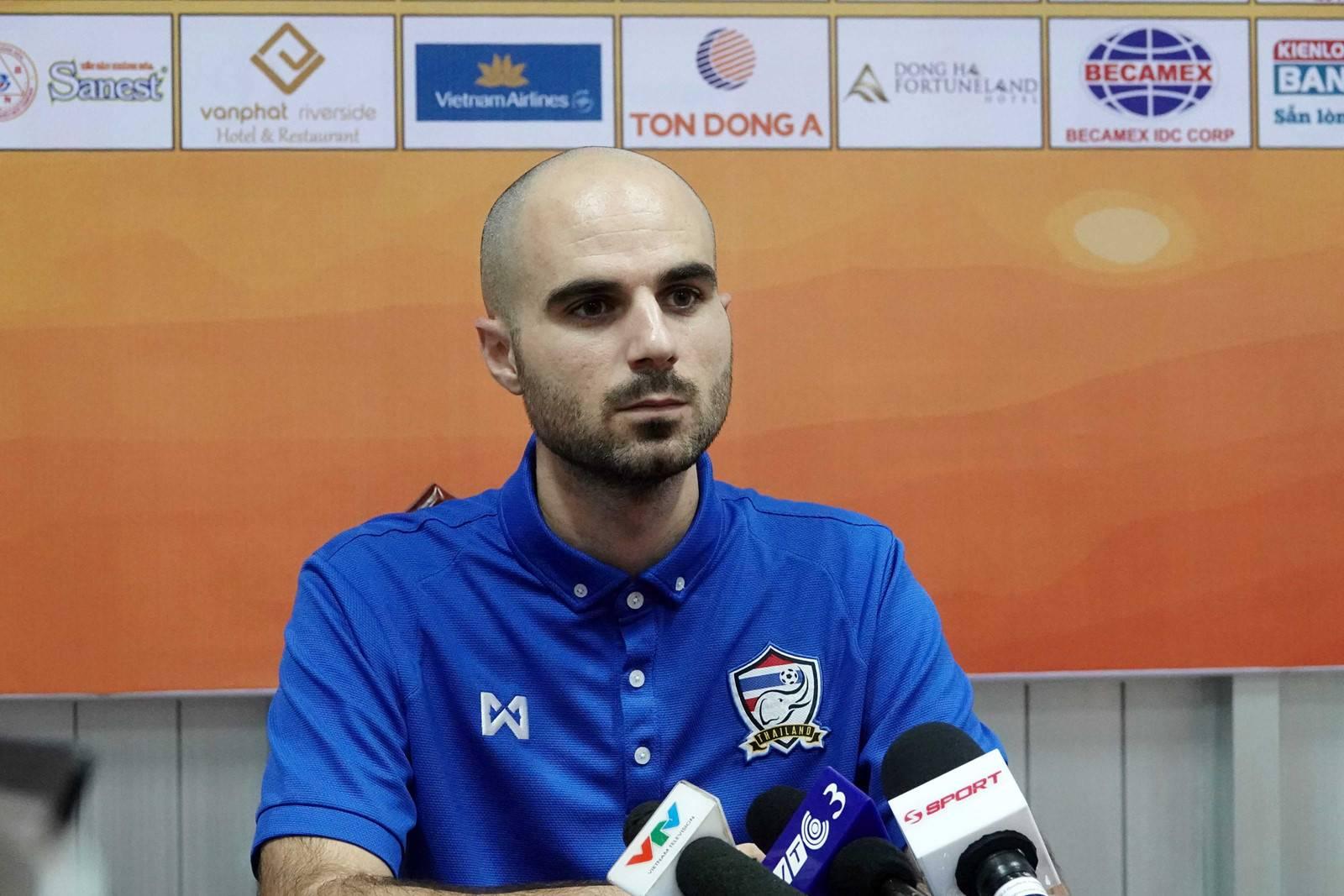 Thailand U21 head coach: Bad results do not mean Thailand lag behind Vietnam