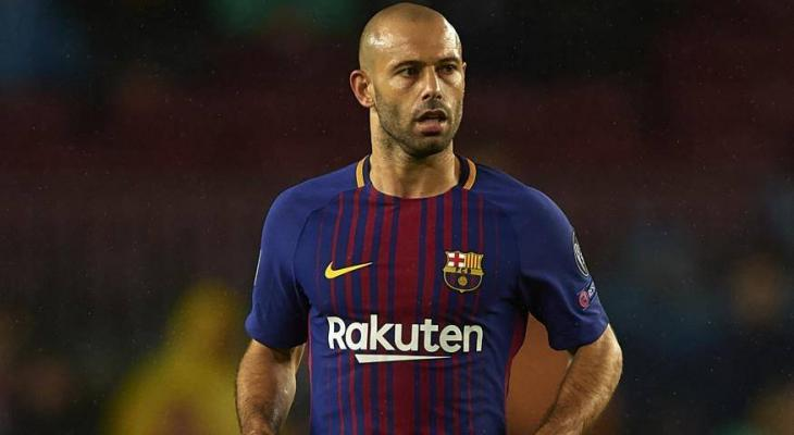 Barcelona confirm agreement with Hebei China Fortune for Javier Mascherano