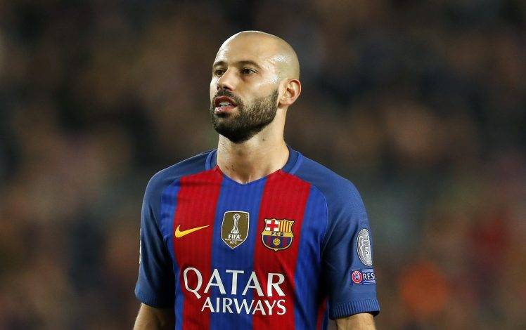 Barcelona midfielder Javier Mascherano could join Hebei Fortune in January – Reports