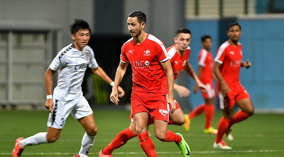 Home United striker Stipe Plazibat set to join Bangkok Glass