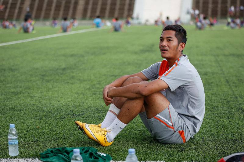 Prak Mony Udom could leaveSvay Rieng FC for overseas clubs, coach reveals