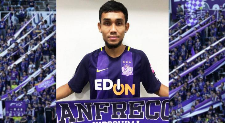 Thai star Teerasil Dangda joins Sanfrecce Hiroshima