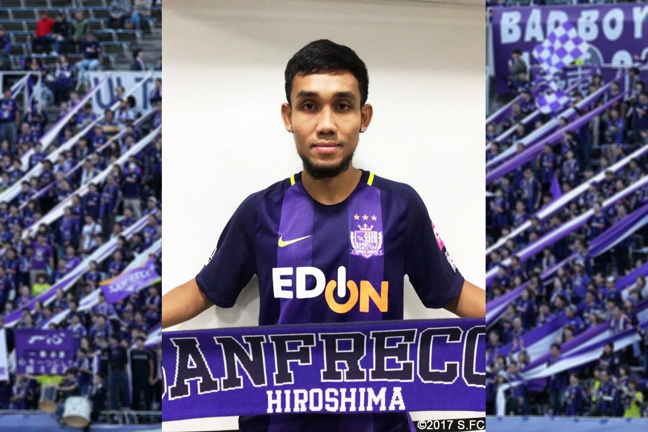 Thai star Teerasil Dangda joins Sanfrecce Hiroshima