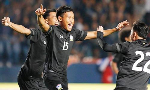 Thailand U-23 record impressive victory over Japan in M-150 Championship
