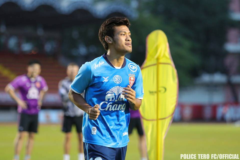 Aung Thu scores in friendly match against Suwon FC