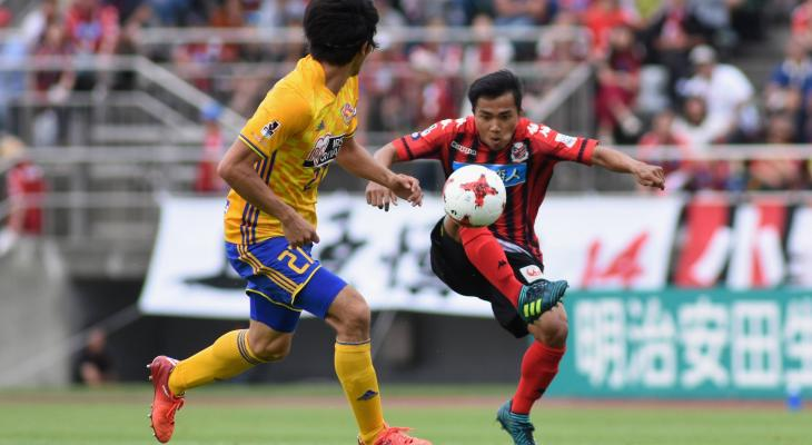 Chanathip's New Year's resolutions: first J.League goal, ACL qualification for Consadole
