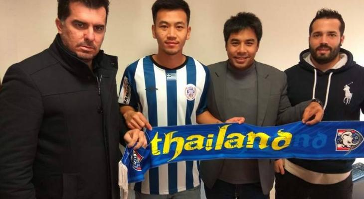 Chanawit Sansanit becomes first Thai player to play in Greece