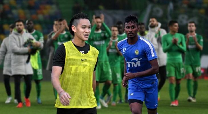 JDT U-23 players Dominic Tan and Syamer Kutty Abba to join Portuguese club