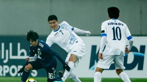 Uzbekistan stun Japan with 4-0 victory in AFC U23 Championship quarter-final