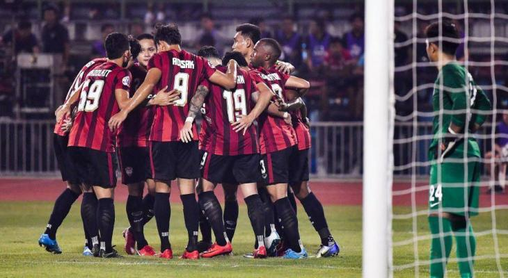 Muangthong United thrash JDT 5-2 in the AFC Champions League qualifier