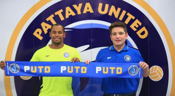 Brazilian striker Rafinha joins Pattaya United