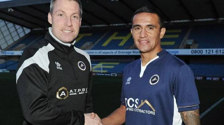 Tim Cahill returns to Millwall to secure spot at 2018 World Cup