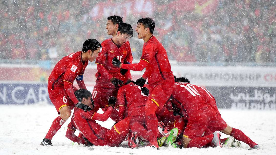 South Korean president praises Vietnam's AFC U-23 Championship run