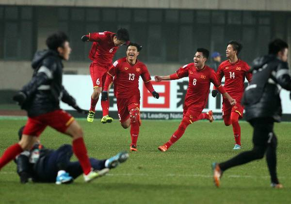Vietnam edge out Iraq on penalties to reach AFC U-23 Championship last four