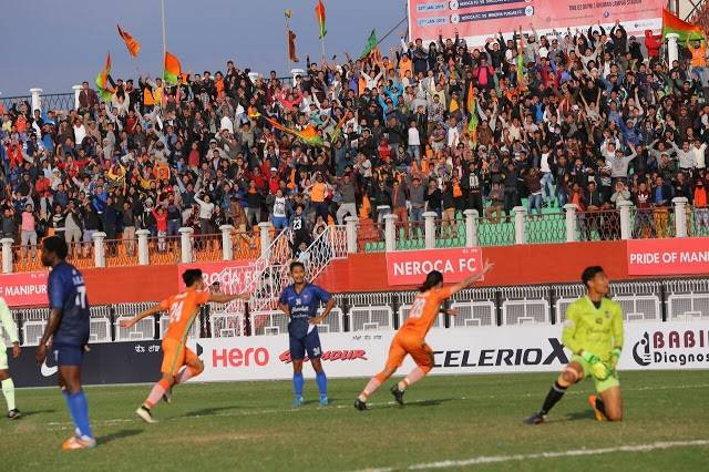 Aryn Williams 86th minute goal sends NEROCA FC to the top the table