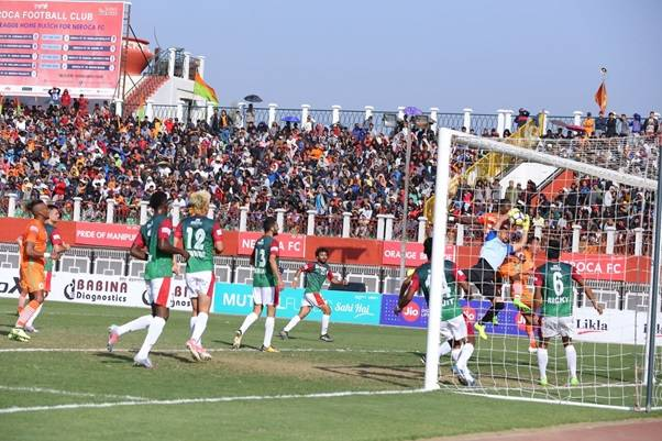 NEROCA FC Slips In Their Final Home Game Losing 3-2 To Mohun Bagan AC