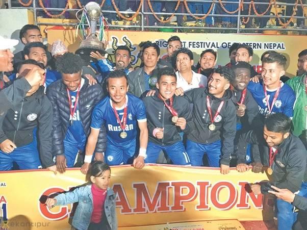 20th Budha Subba Gold Cup: Three Stars Club beats Nepal Police Club 1-0 to win the title