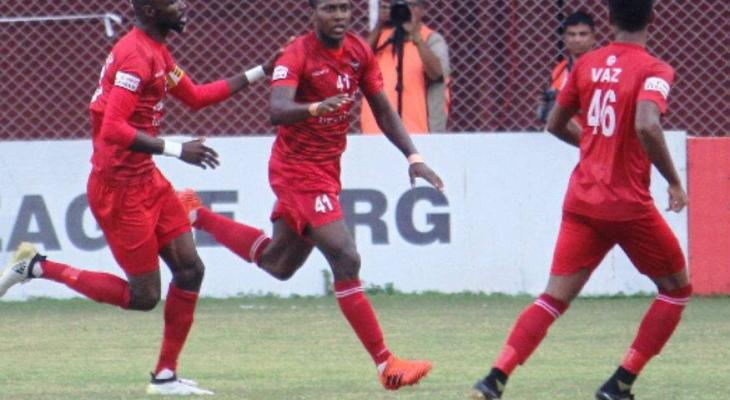Churchill Brothers beats Aizawl FC through Mechac's solitary goal