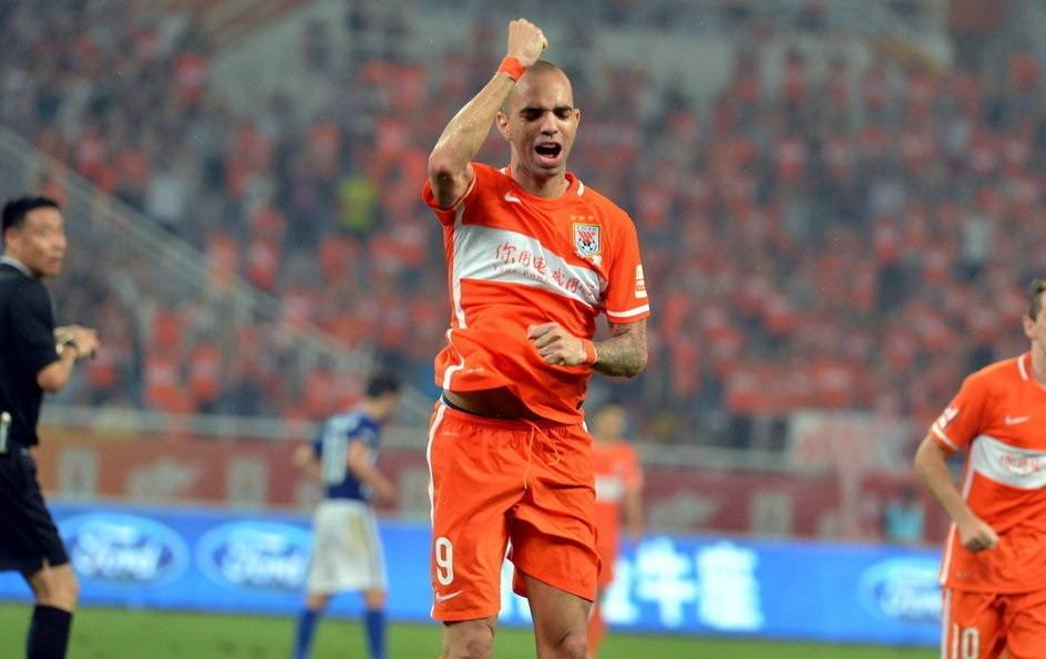 Diego Tardelli hopes to extend contract with Shandong Luneng