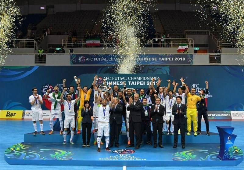 Iran's futsal team crowned as Asian champion