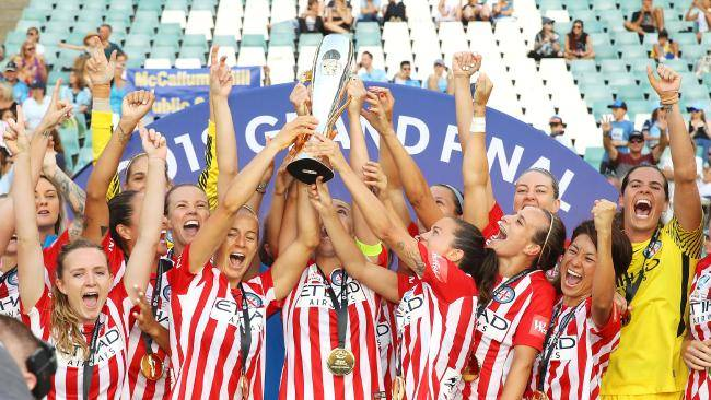 Melbourne City claim third straight W-League title after Sydney FC win