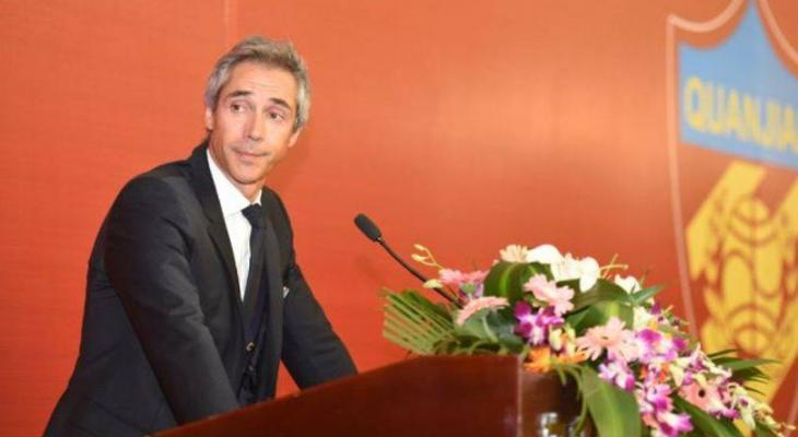 Tianjin Quanjian coach Paulo Sousa aims the knockout rounds of AFC Champions League