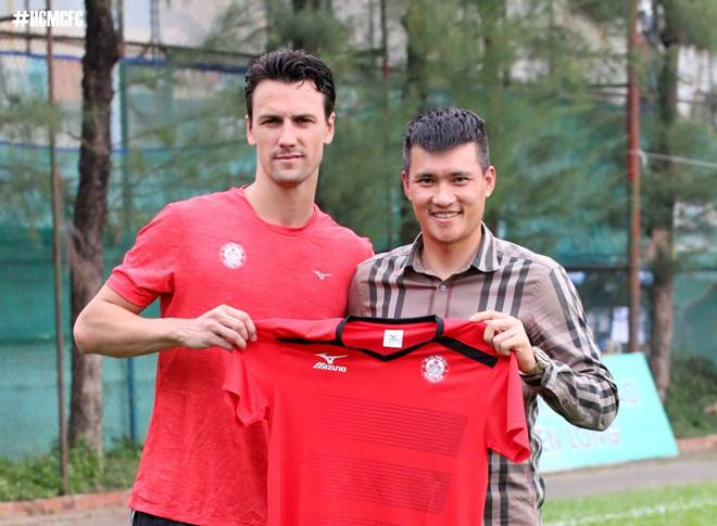 Ho Chi Minh City FC part ways with former Manchester United midfielder Rodrigo Possebon