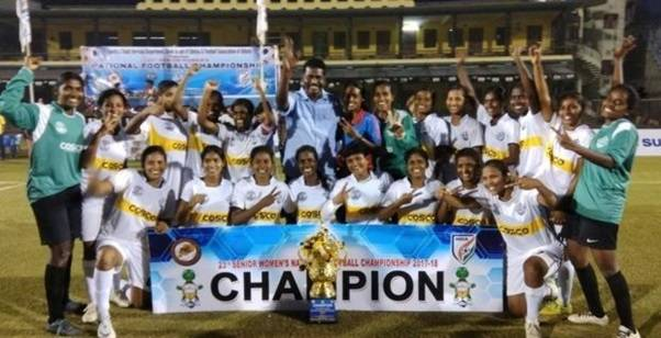 Senior Women's National Football Championship: Tamil Nadu beats favourite Manipur 2-1 to win their maiden title