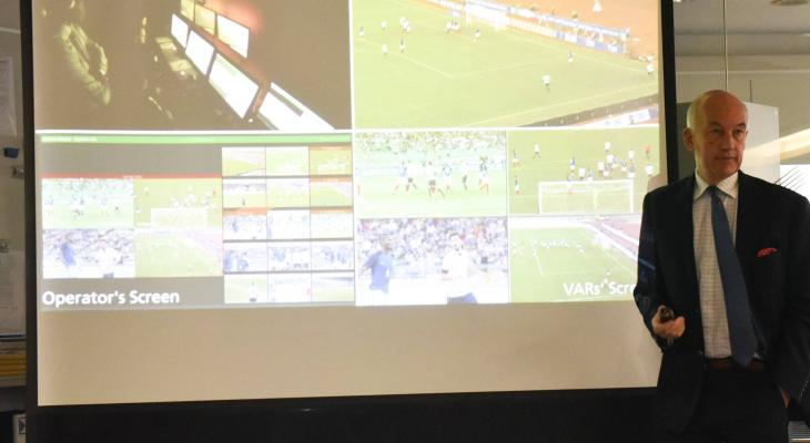 J.League, IFAB emphasise media's role in VAR introduction as tests begin