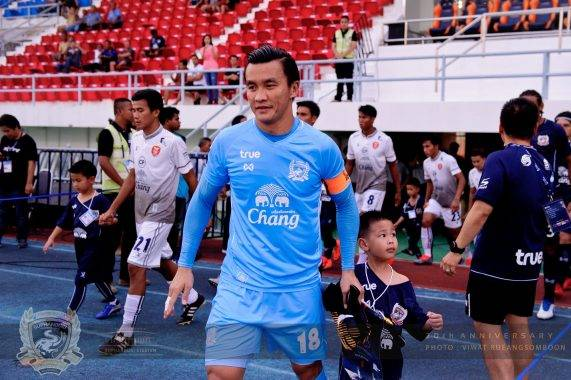 Kosin Hathairattanakool, Ex Persib Bandung Goalkeeper Leads the Clean Sheet Record in Thailand League
