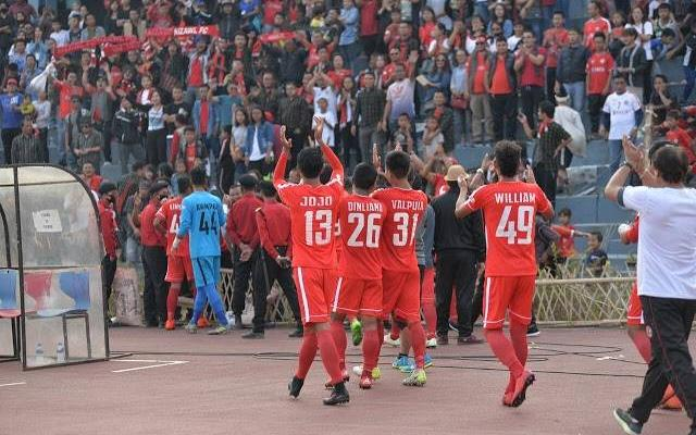 Aizawl FC signs off their I league season with a 3-1 win over Gokulam Kerala FC