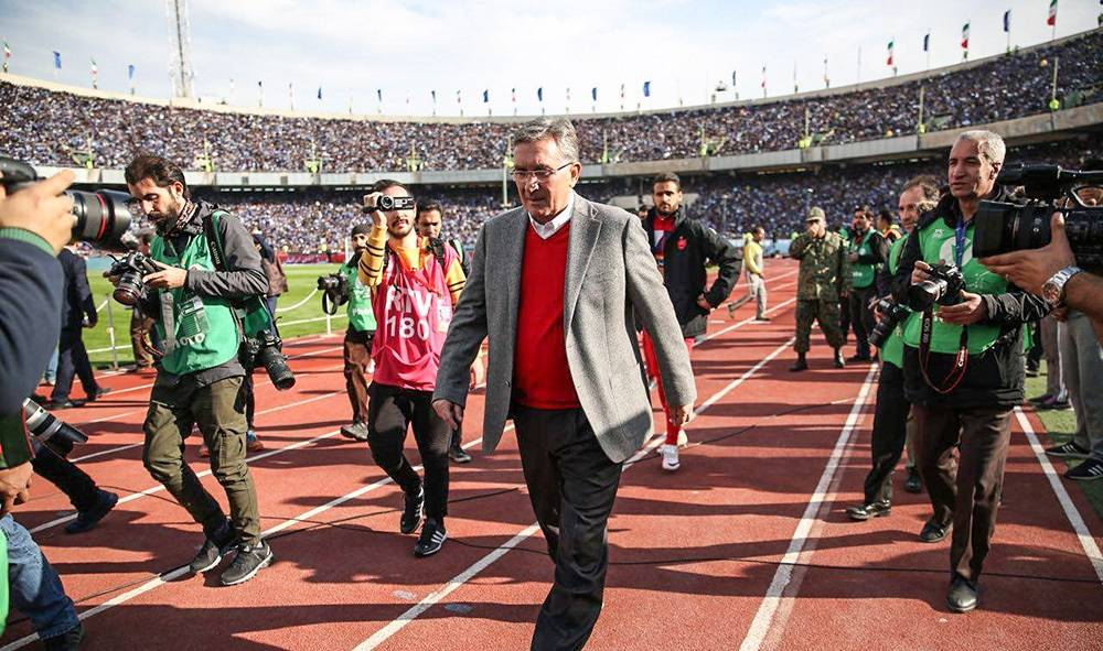 Coach Branko Ivankovic: I only think about Persepolis
