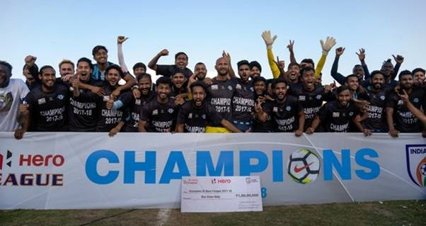 Minerva Punjab FC win the Hero I-League beating Churchill Brothers 1-0
