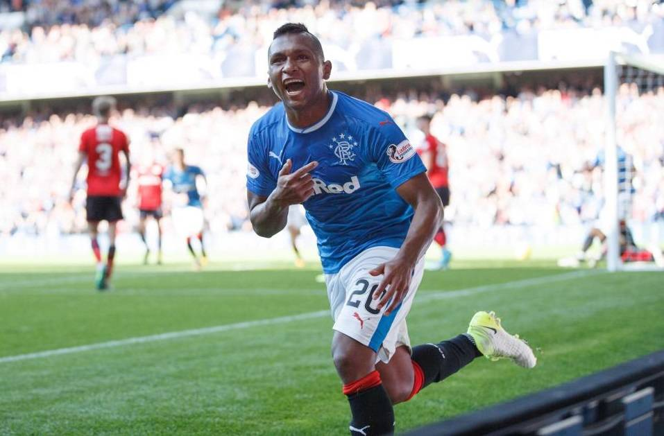 Alfredo Morelos puts away China rumours after signing new deal with Rangers