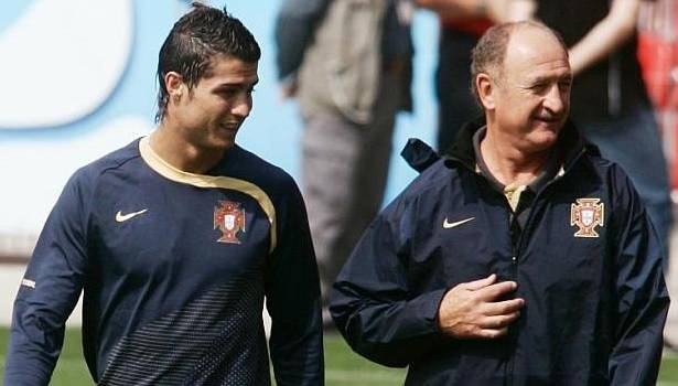 Luiz Felipe Scolari: Cristiano Ronaldo asked me about life in China