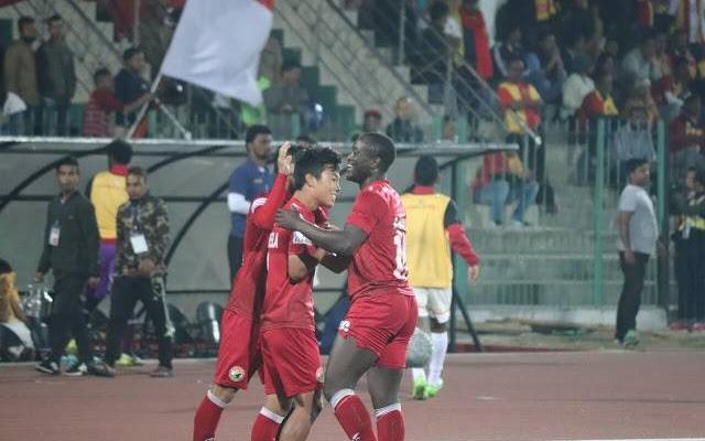 East Bengal draws 2-2 with Lajong FC, stays pinned at third on the league table