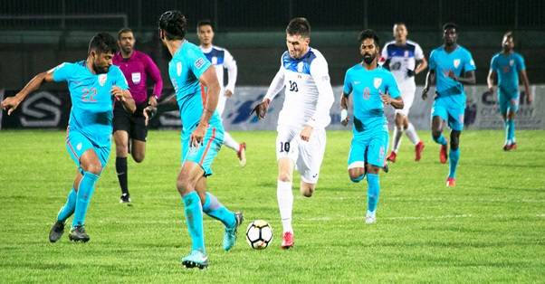 India lose 2-1 to Kyrgyz Republic in the final game of 2019 AFC Asian Cup Qualifiers