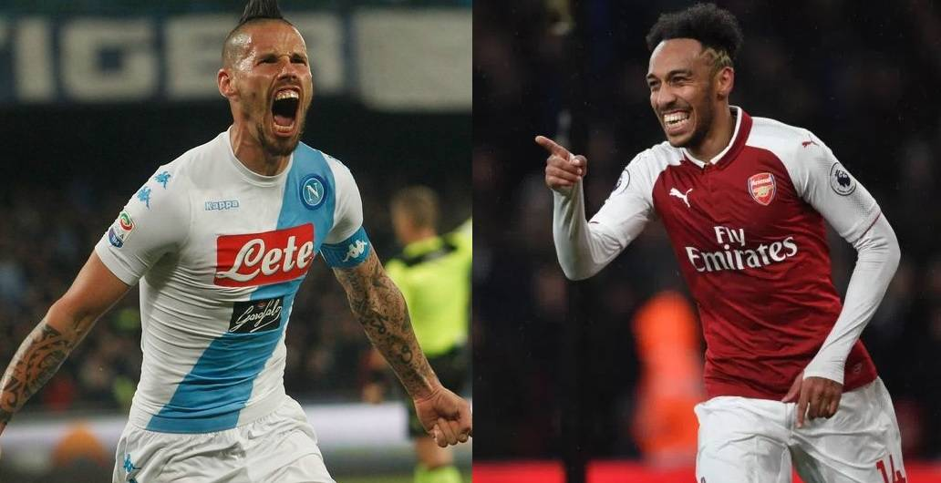 World superstars Aubameyang and Hamsik confirmed to play at 2018 King's Cup