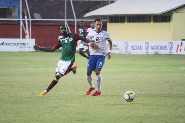 Dicka, Akram on target as Mohun Bagan beats wayward Arrows 2-0