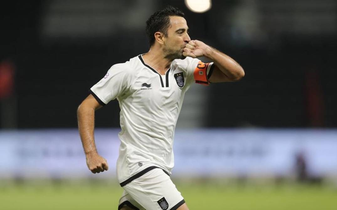 Spanish legend Xavi earns his first AFC Champions League goal