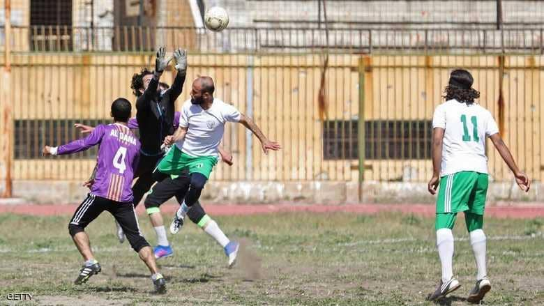 Syrian Stadium holds a friendly match for the first time in three years