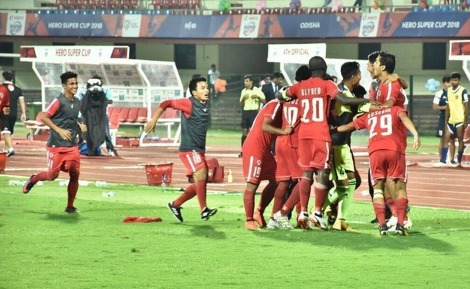 Aizawl FC beats Chennaiyin FC on penalties to win the opening game of Super Cup