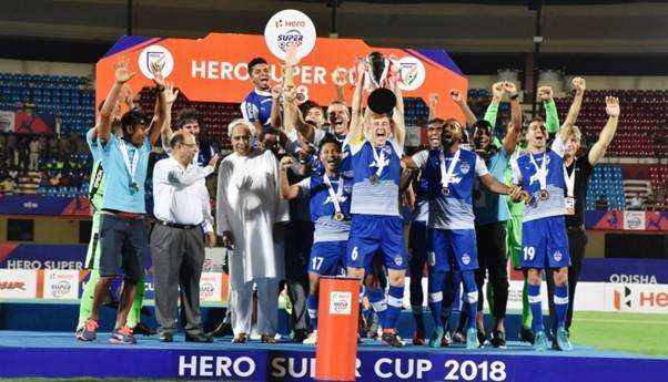 Bengaluru FC comes from a goal down to beat East Bengal 4-1 in the Super Cup Final