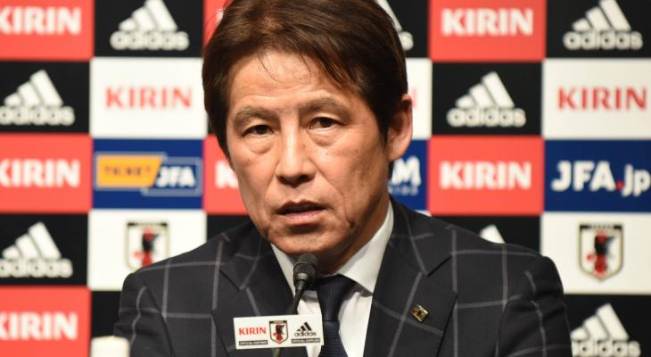 New Samurai Blue head coach Akira Nishino stresses teamwork