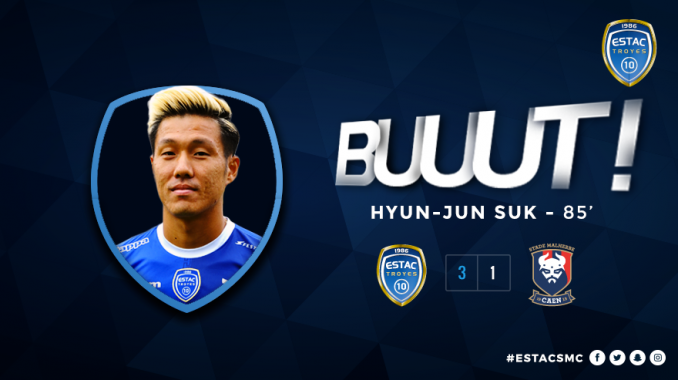 Suk Hyun-jun finds the net for the first time in 140 days
