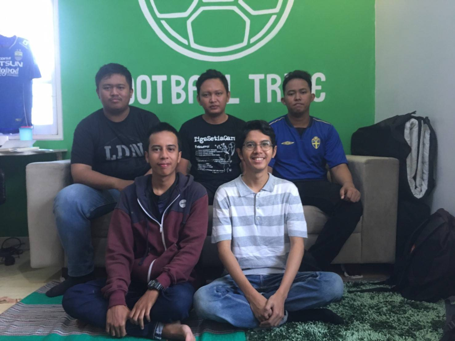Students begin classes at Football Tribe Academy