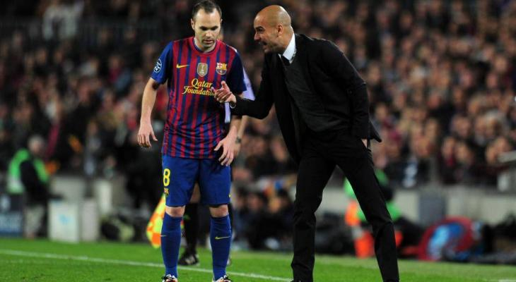 Pep Guardiola lures Andres Iniesta to Manchester City instead of China