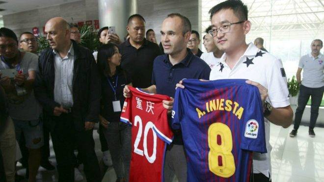 Andres Iniesta set to sign for Chongqing Dangdai Lifan – Reports